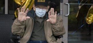 'World's oldest COVID-19 survivor' celebrates 104th birthday