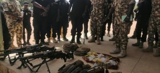 Buratai commends soldiers for 'defeating' Boko Haram insurgents in Yobe