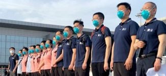 CCECC: Chinese medical team not treating COVID-19 patients in Nigeria