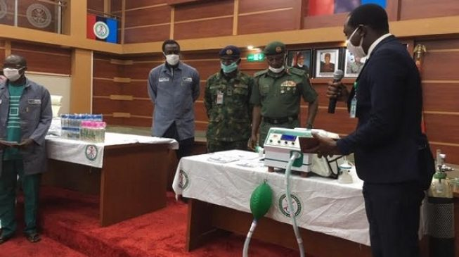 COVID-19: Nigeria's defence ministry produces ventilator