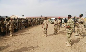 Buratai 'relocates to north-east', promises to lead his men to war
