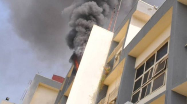 Fire breaks out at INEC office in Abuja