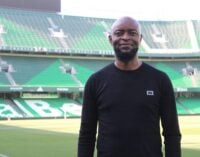 Finidi George: I'll love to coach Nigeria