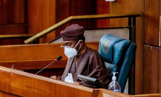 EXTRA: Masks make it difficult for Gbaja to recognise colleagues at plenary