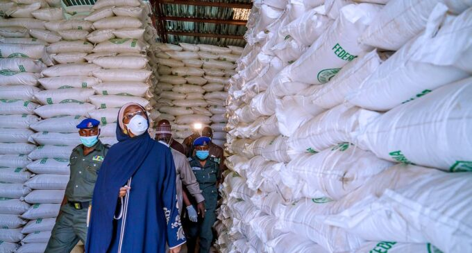 The rice distributed to states fit for consumption, says FG