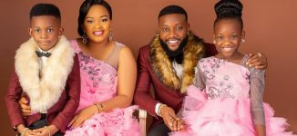 'I count myself the luckiest' – Kcee welcomes baby boy on wife's birthday