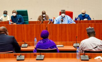 FG consults national assembly over 2020 budget revision