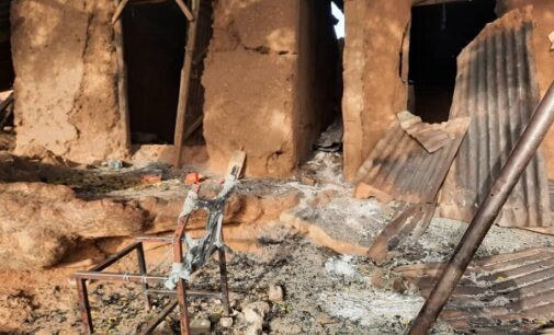 PHOTOS: Troops recover weapons after battle with Boko Haram insurgents in Yobe