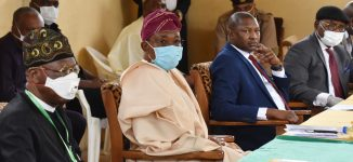 PHOTOS: Lai, Malami, Aregbesola at Kuje Custodial Center before release of some inmates
