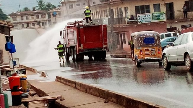 EXTRA: AMAC charges small businesses N120,000 for 'compulsory fumigation'