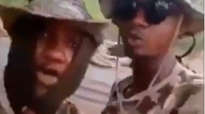 Soldiers who threatened to rape women in Warri arrested in Lagos