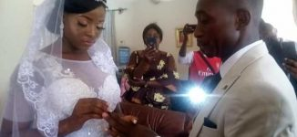 PHOTOS: Taraba couple weds in living room amid COVID-19 lockdown