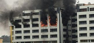 Fire breaks out at accountant-general's office in Abuja