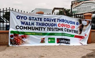 'No text, no test' — Experiencing Oyo's COVID-19 drive-through testing centre