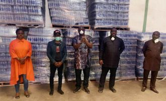 Seven-Up donates 2m bottles of Aquafina water, other beverages in COVID-19 support drive