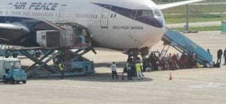 268 Nigerians evacuated from China arrive in Abuja