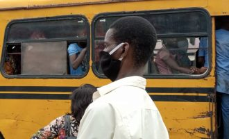 PHOTOS: 'Crowded buses, rowdy ATM points' — Nigerians shun social distancing as lockdown ends