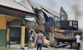 'He should have turned them to isolation centres'  — reactions to demolition of Rivers hotels