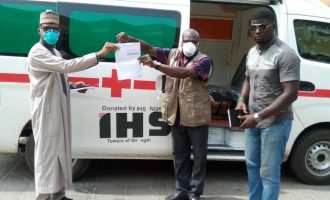 NCDC announces donation of ambulances by IHS Nigeria towards fight against COVID-19