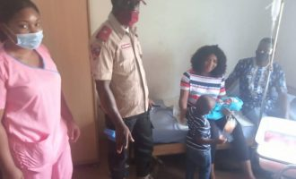 EXTRA: FRSC assists pregnant woman struggling to drive while in labour