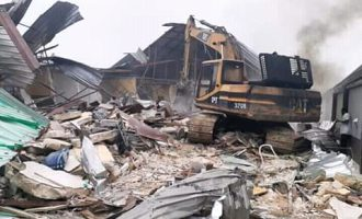 'It's gross abuse of power' — Lawyer tackles Wike over demolition of hotels
