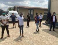NGO donates masks, foodstuff in Lagos