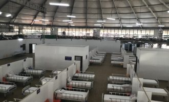 THISDAY Dome donated as 320-bed isolation centre in Abuja 'almost ready' for use