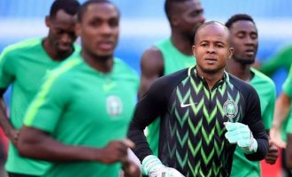 Ezenwa: I would love to join Ighalo at Man United