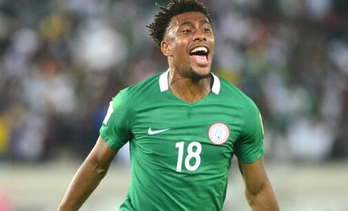 Iwobi: Scoring goal that sent Eagles to 2018 World Cup, my happiest football memory