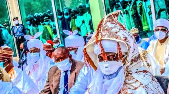 PHOTOS: Despite high COVID-19 cases in Kano, Eid prayers hold without social distancing