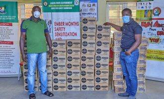 Dettol donates hygiene products to support Lagos State's COVID-19 fight
