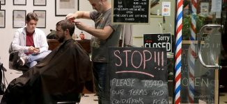 Midnight queues as New Zealand barbers reopen — after 3 days with no new COVID-19 cases