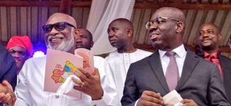 Oyegun: Buhari has endorsed Obaseki, Akeredolu for second term