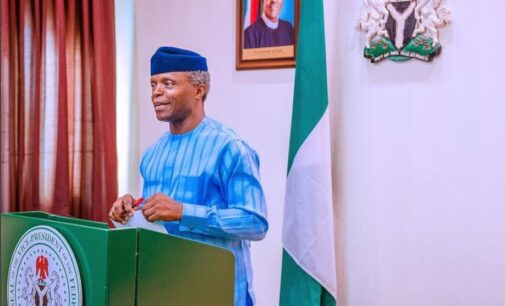 Osinbajo on 2023: Right now, my focus is to serve Nigeria