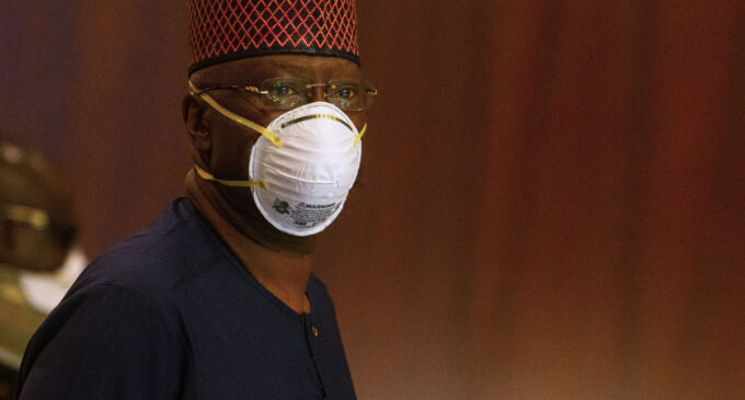 EXTRA: I'm treated as a COVID-19 suspect in my house, says SGF