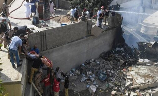 Pakistani aircraft with over 100 passengers crashes in residential area