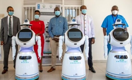 COVID-19: Rwanda takes delivery of robots that can screen '150 people per minute'