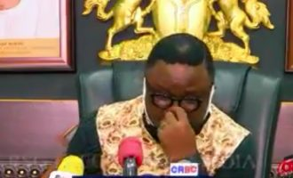 Ayade breaks down in tears as he exempts 'the poor' from paying tax
