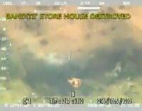 VIDEO: Bandits' hideout destroyed by military air strikesin Zamfara