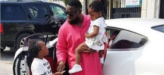 'I love you my special one' — Timaya celebrates first daughter on 8th birthday