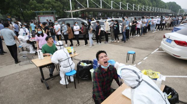 Wuhan conducted over 6.5m COVID-19 tests in 10 days