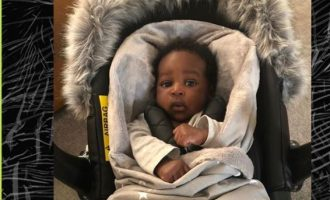 Zlatan finally shares photos of his 2-month-old son to mark Children's Day