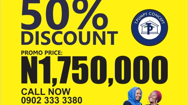 Plot of land now goes for just N1.75m in Abuja as T Pumpy announces 50% discount