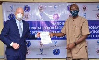 Nigerian Breweries donates N42 million medical equipment to College of Medicine, University of Ibadan