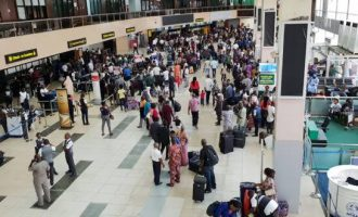 COVID-19: Nigerians evacuated from UK arrive in Lagos