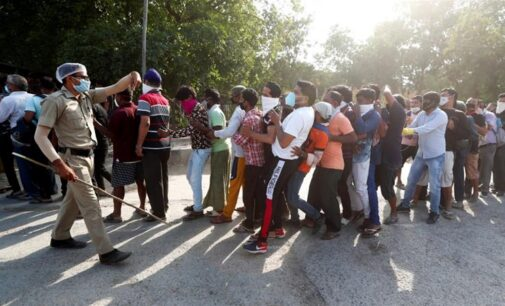 ICYMI: Long queues, chaos as India's liquor stores reopen after 40 days lockdown