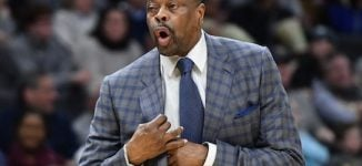 Patrick Ewing, NBA legend, tests positive for COVID-19