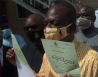Bayelsa dep gov waives immunity, presents NYSC certificate in court