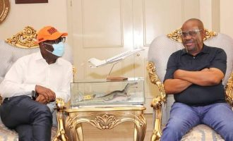 'Obaseki was disqualified by someone who doesn't have a certificate' — Wike taunts Oshiomhole