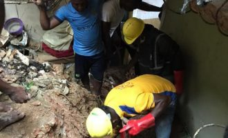 Two children found dead in Lagos collapsed building
